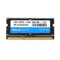 RECADATA 4 ГБ памяти ddr3l-1600 Модуль памяти 204-Контактный