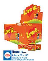 Love is Жуйка Апельсин-Ананас 4,2г*100