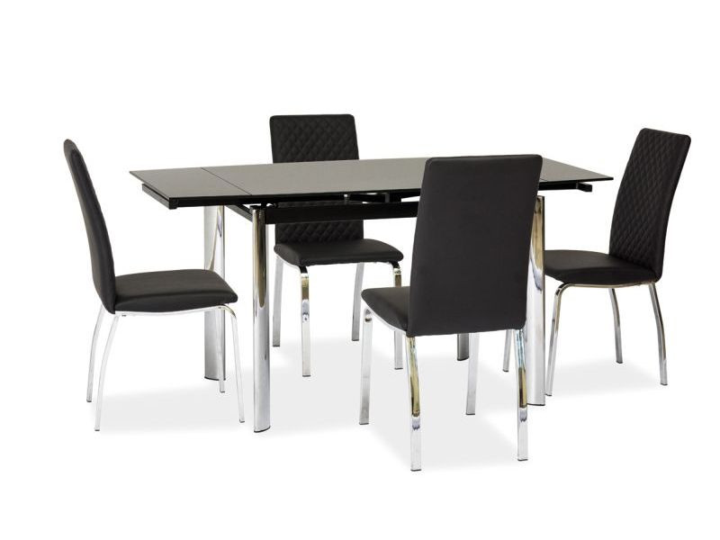 Стеклянный стол раскладной Signal GD-019