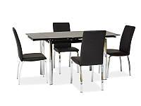 Стеклянный стол раскладной Signal GD-019, фото 1