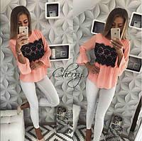 Блуза женская в расцветках  32310, фото 1