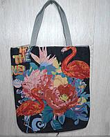 Пляжная, городская сумка с животным принтом