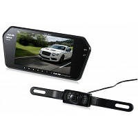 Kelima 0068F 7-дюймовый автомобильный монитор заднего вида с экраном Backup Чёрный