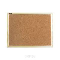 Доска пробковая 9602-A в деревянной рамке, 60x90 см | AXENT