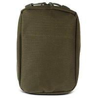 Тактическая нейлоновая сумка для аксессуаров телефона и чехлом для аптечки Зеленый армейский