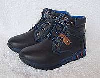 Ботинки демисезонные для мальчика. EeBb. Модель S6237blue