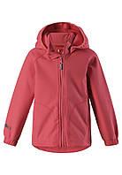Куртка демисезонная из материала Softshell для девочки Reima Vantti 521540-3340. Размер 104., фото 1