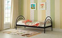 Кровать Алиса 80х200, металлическая односпальная кровать выбор цвета Мадера Доставка 250грн