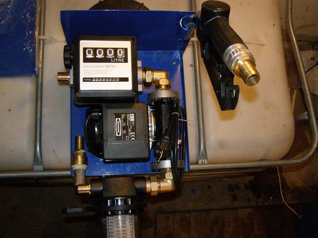 Устройство для заправки дизельного топлива 220В