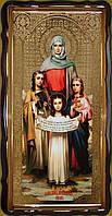 Вера, Надежда, Любовь и София, их мать 112х57, 110х80см