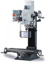 Настольный фрезерный станок по металлу Оптимум BF20 Vario и BF20L Vario с вариатором оборотов шпинделя