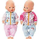 Одежда куклы Беби Борн Baby Born комплект для отдыха Zapf Creation 824542, фото 6