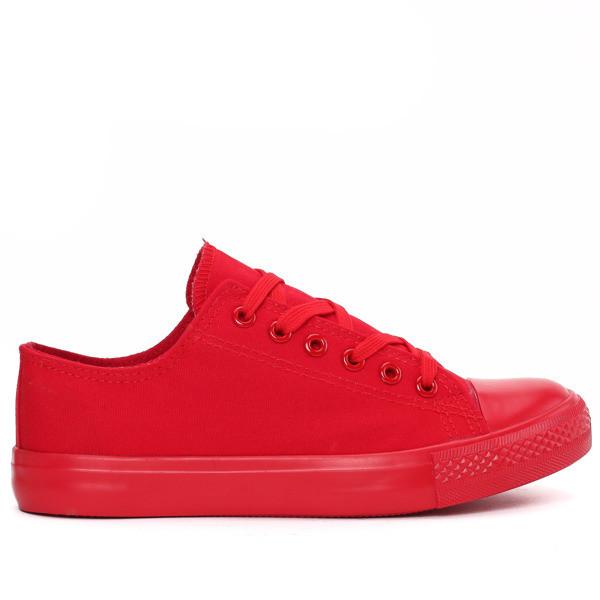 Женские кеды красного цвета размеры 39,40