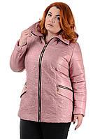 Женская куртка демисезон большого размера рр 52-62