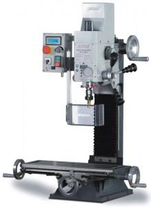 Настольный фрезерный станок по металлу Оптимум BF20 Vario и BF20L Vario с вариатором оборотов шпинделя, фото 1
