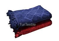 Плотное фактурное полотенце 70*140  600 гр/м2, фото 1