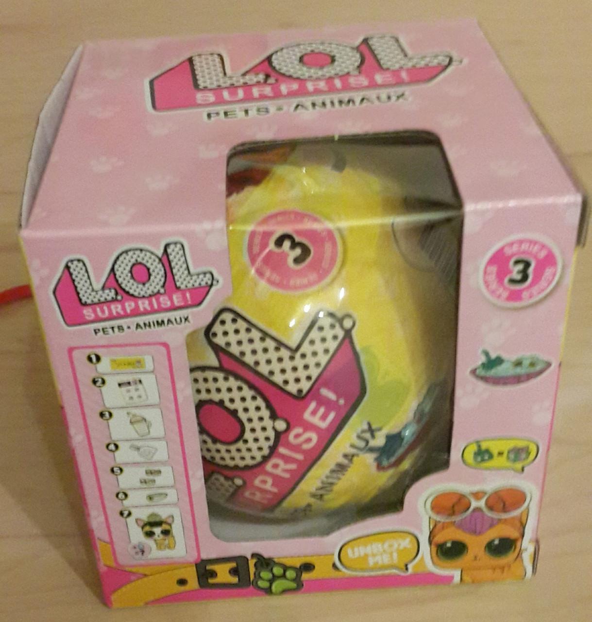 Кукла L.O.L. Pets Кукла ЛОЛ. Питомцы с кинетическим песком