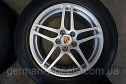 """Диски 18"""" с зимней резиной для Porsche Macan"""
