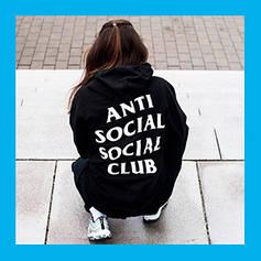 Толстовки и худи Anti Social Social Club