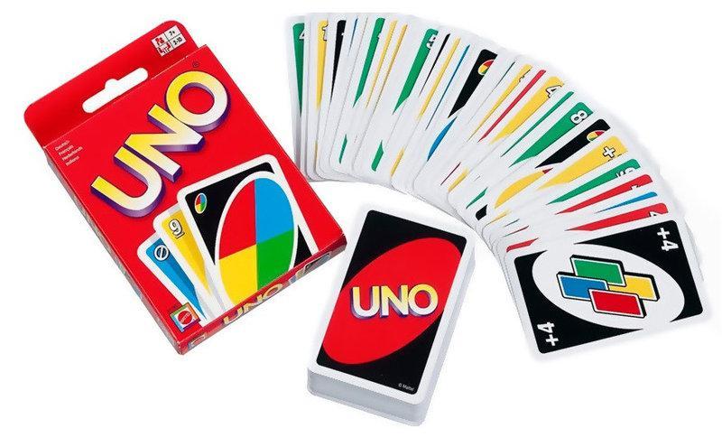 Настольная карточная игра Uno Уно, аналог Сто одно