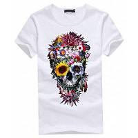 Модная повседневная футболка для женщин с 3D печатью готики бестселлер M