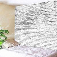 Каменный Кирпич Декоративный Настенный Гобелен Ширина 71 дюйм * длина 91 дюйм