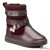 Сапоги бордовые для девочки (23 размер) Bartek 5904699434335 0687a9b49e213