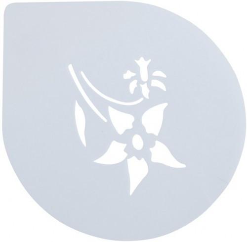 Трафарет для Торта Цветок  250мм(шт)