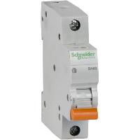 Автоматический выключатель Schneider Electric 1P ВА63 Домовой 63А С 4,5кА  (11209)