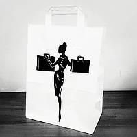 Подарочный бумажный пакет для женщин , фото 1