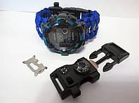 Часы  HONHX, браслет выживания 15 в 1,мужские Мультитул
