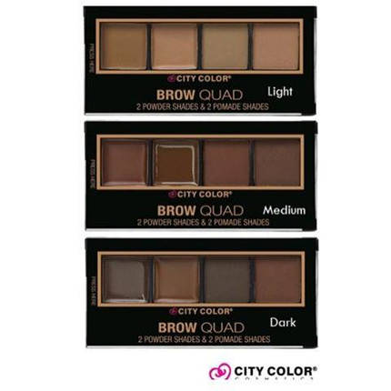 Палитры для бровей City Color™ Brow Quad, фото 2