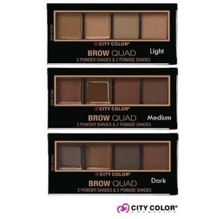 Палитры для бровей City Color™ Brow Quad, фото 2