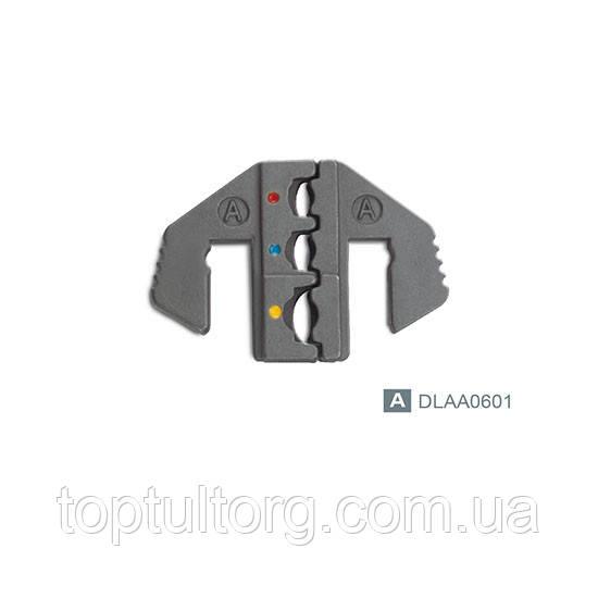 Cменные губки для клещей обжимки клем (тип A)  TOPTUL DLAA0601
