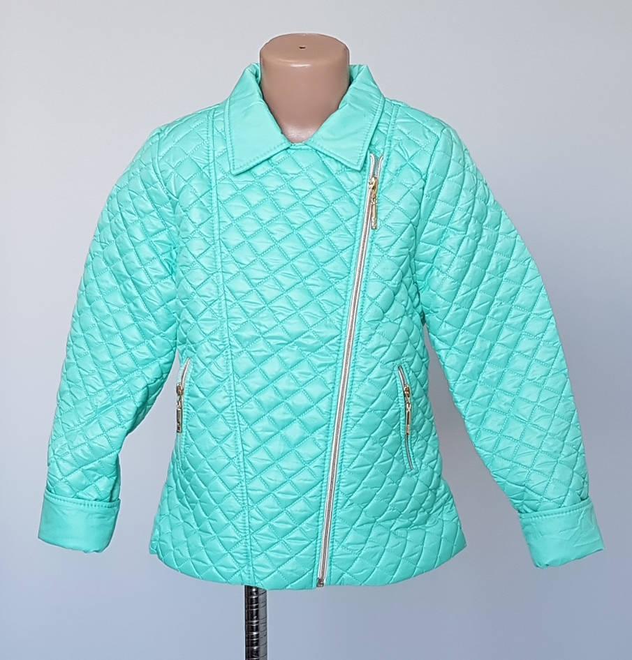 Куртка косуха для девочек с 122 по 146 рост