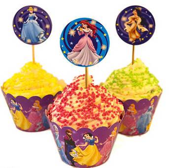 Набор для кексов Принцессы Диснея
