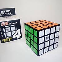 Кубик Рубика 4х4 QiYi MoFangGe QiYuan Black (кубик-рубика), фото 1