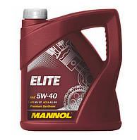 Моторное масло Mannol Elite SAE 5W-40 A3/B4 4 л