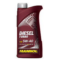 Моторное масло Mannol Diesel Turbo SAE 5W-40 A3/B4 1 л