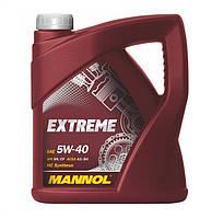 Моторное масло Mannol Extreme SAE 5W-40 A3/B4 4 л