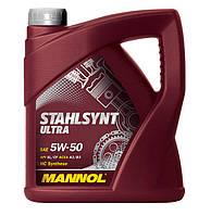Моторное масло Mannol Stahlsynt Ultra SAE 5W-50 A3/B3 4 л