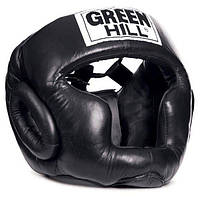 Шлем бокс SUPER кожа черный р.S GREEN HILL