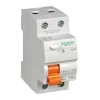 Дифференциальные автоматические выключатели 2р (УЗО) ВД63  Домовой 63А 30мА (11455)