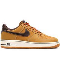 "Мужские кроссовки Nike Air Force 1 Low ""Boot Wheat & Baroque Brown"""