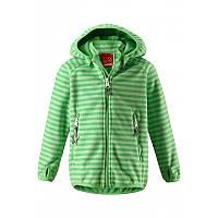 Куртка демисезонная из материала Windfleece для мальчика Reima Vuoksi 521539-8463. Размер 104., фото 1