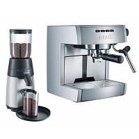 Набор эспрессо-машина и кофемолка Graef ES 70 Set