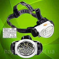 LED Headlamp. Фонарь головной светодиодный Bailong BL-603-9C