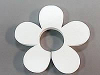 Квітка з пінопласту 10 см