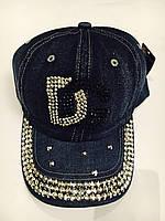 Кепка женская джинсовая купить В РОЗНИЦУ размер 56-57 недорого 7 километр