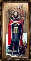 Икона Александра Невского 112х57см или 110х80см